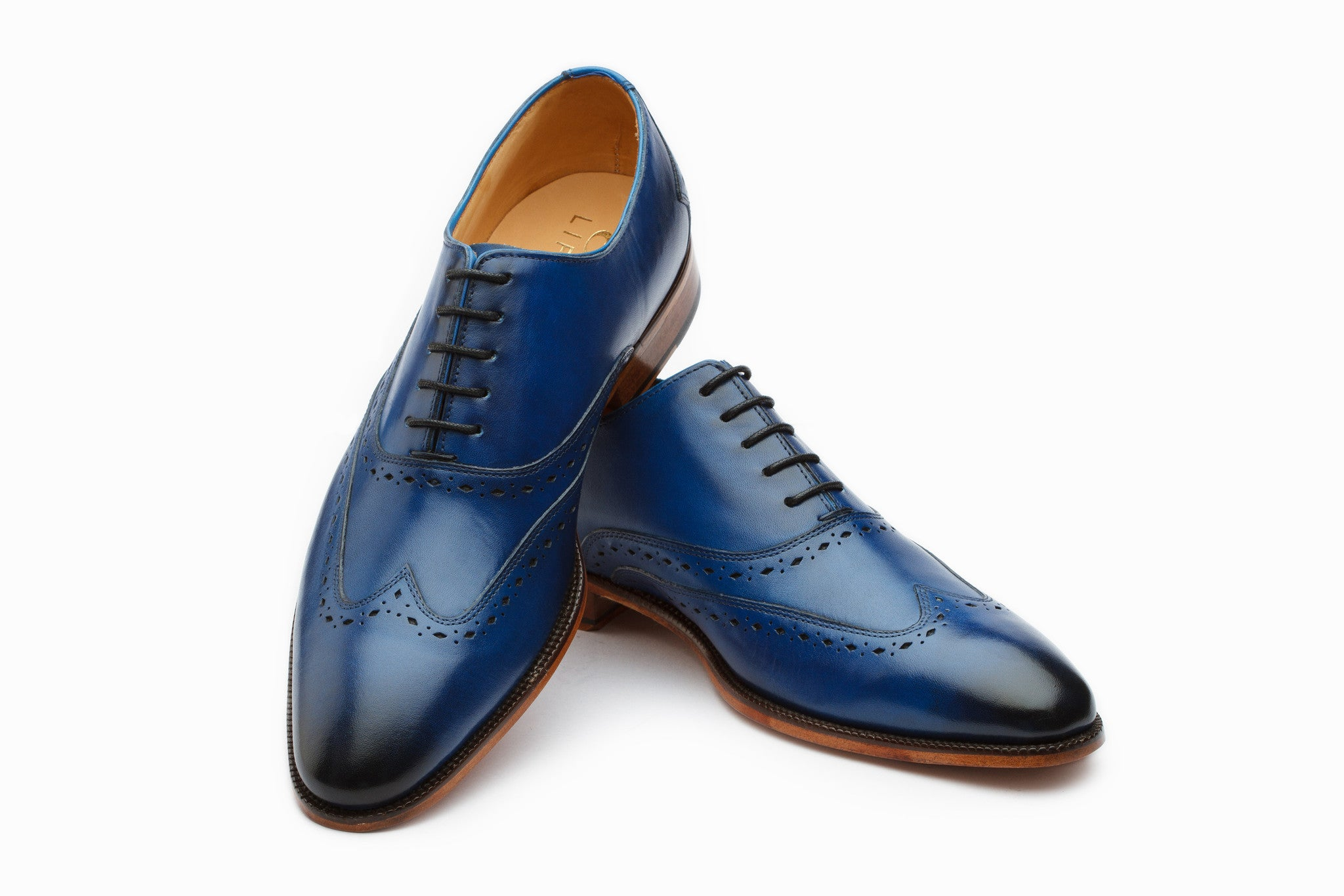 Oxfords - Wingtip Oxford - Blue