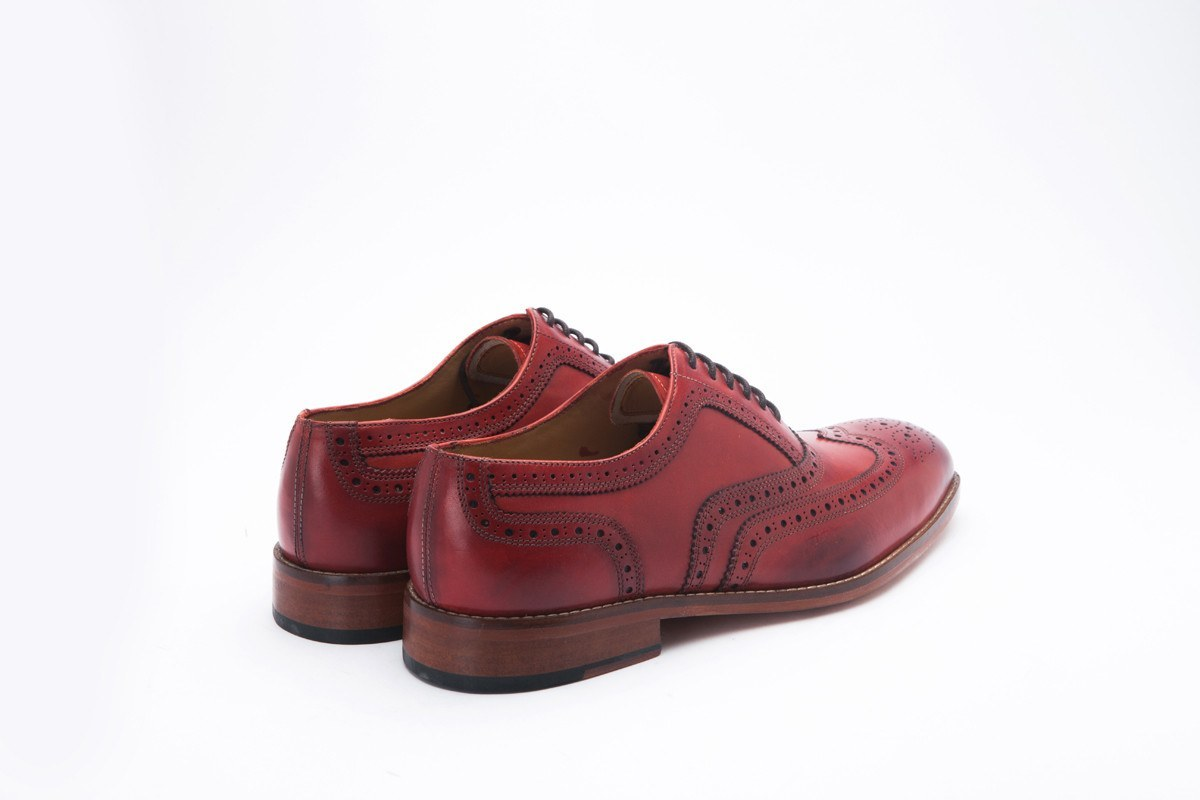 Oxfords - Wingtip Oxford Classic - Chilli