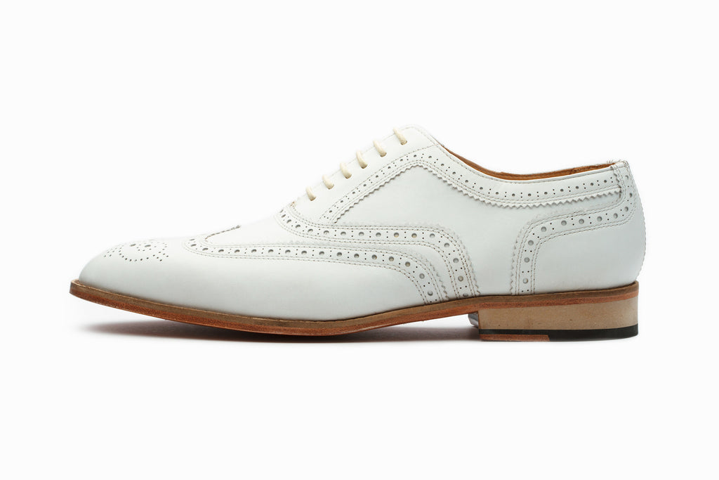 Oxfords - Wingtip Oxford Classic - White