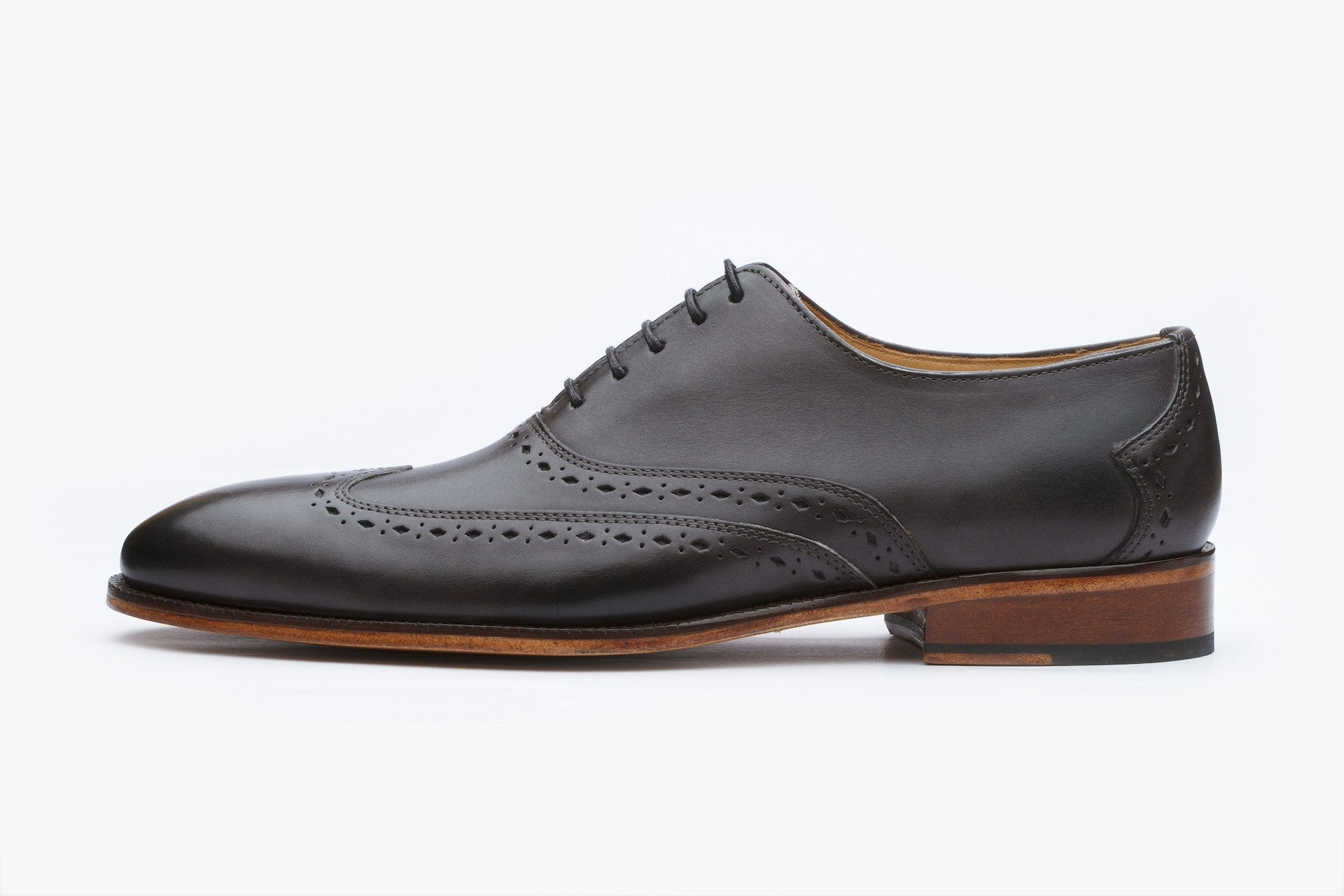 Oxfords - Wingtip Oxford - Dark Grey