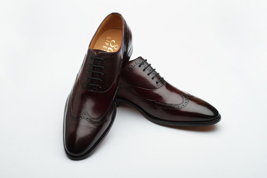 Oxfords - Wingtoe Oxford Brogue - Burgundy