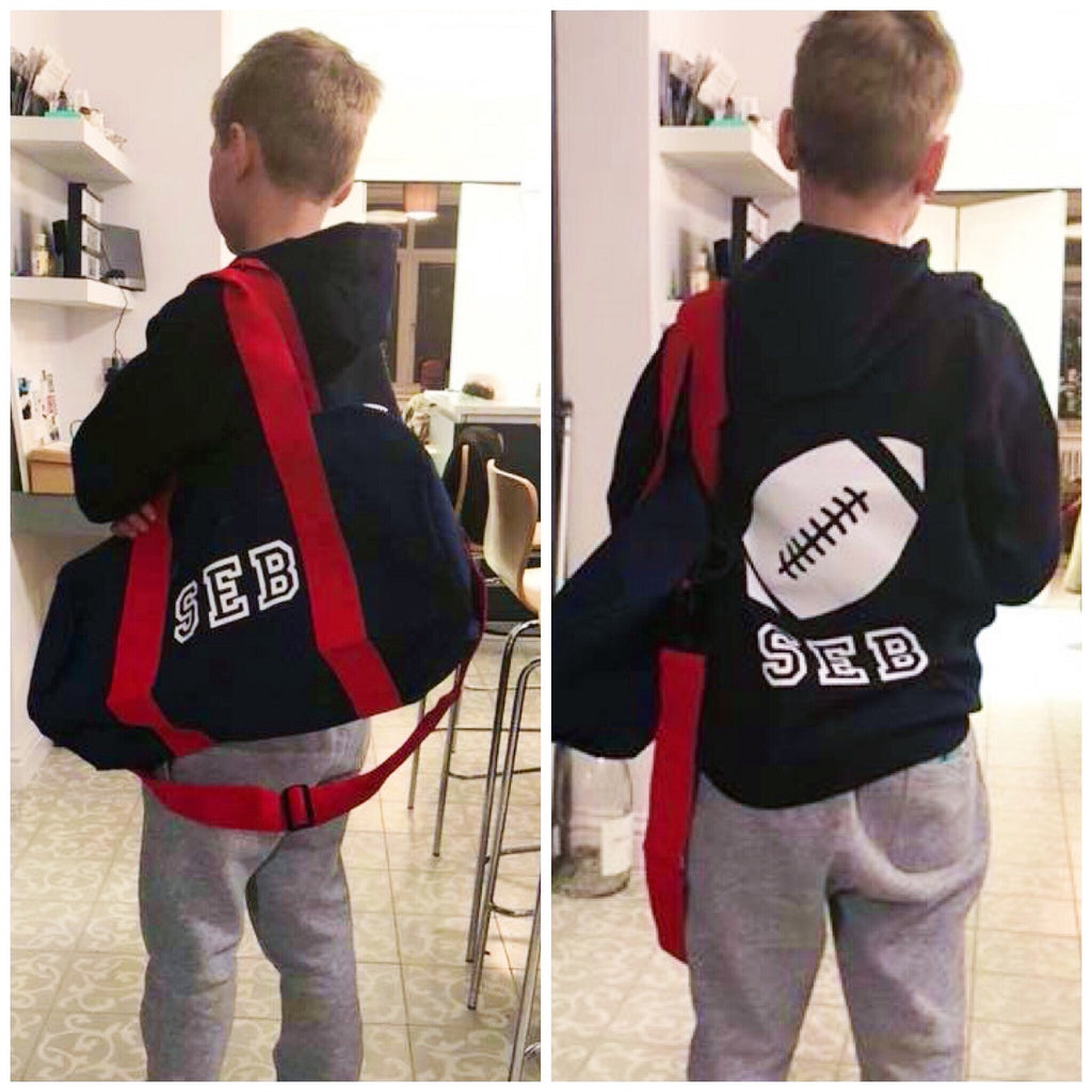 Boys' Personalised Hoodie & Activity Bag