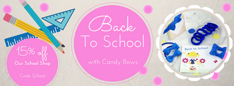 Last Chance for 15% off School Accessories