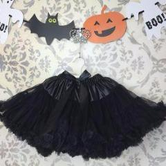 Halloween Black Magic Pettiskirt Tutu