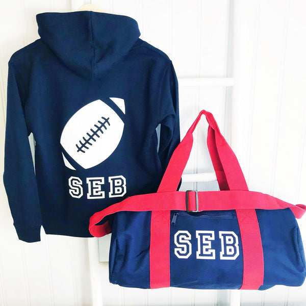 BOYS'  Personalised Activity Bag - 3 options available