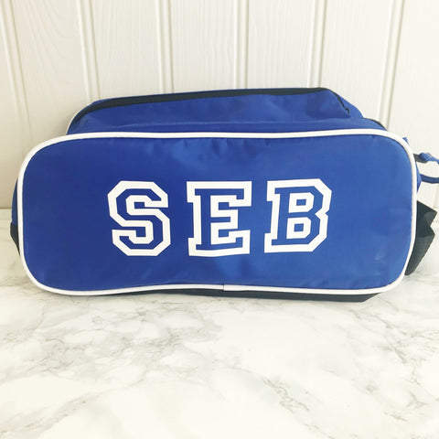 Boys' Personalised Boot and Trainer Bag (4 colour options)