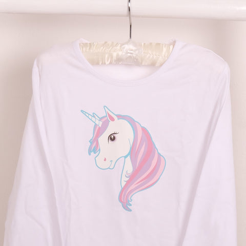 girls Magical Unicorn T-shirt - Available Long or Short Sleeves