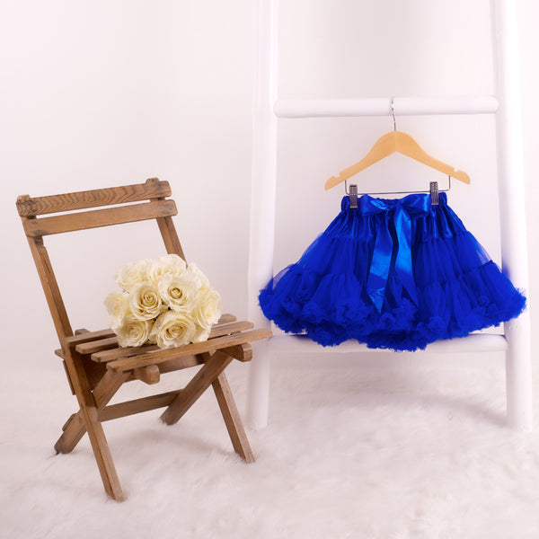 pettiskirt tutu royal blue candy bows angels face bob and blossom miss francis petticoat underskirt