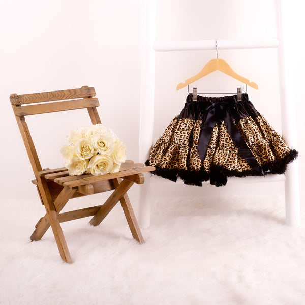 pettiskirt tutu leopard candy bows angels face bob and blossom miss francis petticoat underskirt