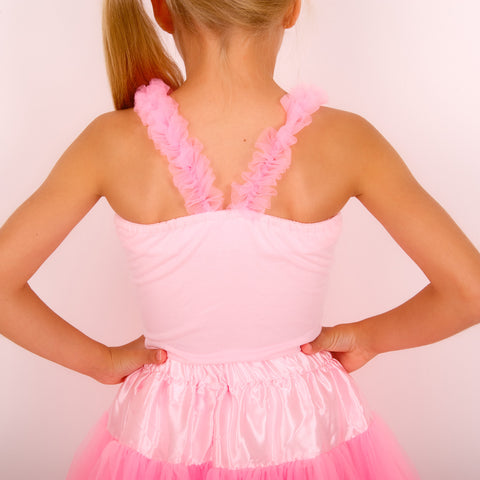 14359b175ccdbf ... pettiskirt top ruffle top hot pink petticoat outfit angles face bob and  blossom