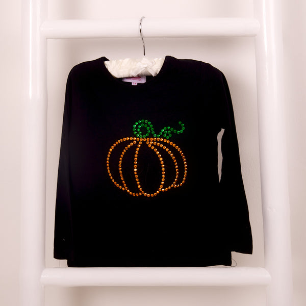 Pumpkin Halloween Long Sleeve Tshirt