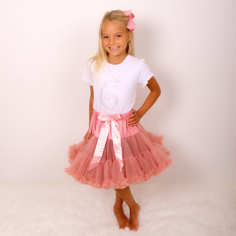 Moonstone Pettiskirt Tutu & Satin Bow