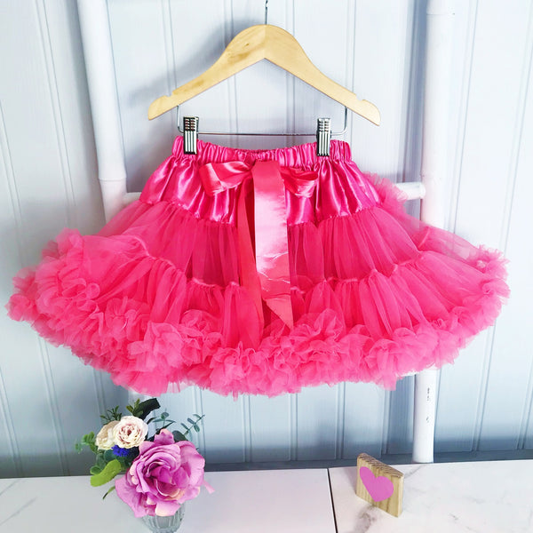Coral Pettiskirt Tutu, Spring Colour, Dance Tutu, Girls Outfit, Gift for Girls petticoat tutu bob and blossom not on the high street