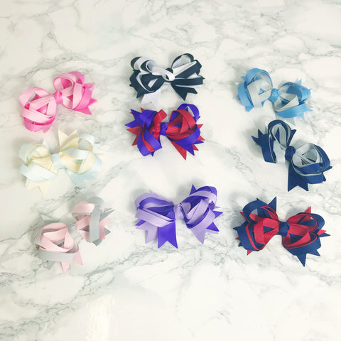 Bundle of 500 Hair Accessories - Bows, Clips, Bobbles, Headbands