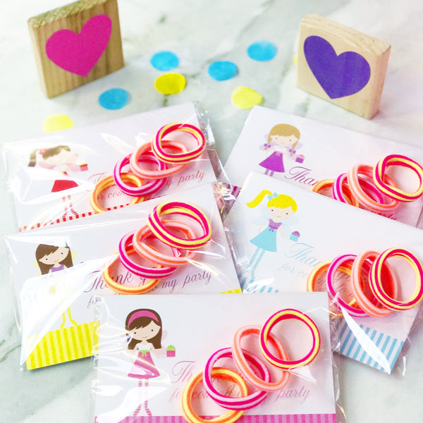 Party Bag Filler  Cards with Bobbles