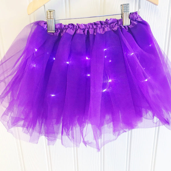 Halloween LED Light Up Tutu - Purple