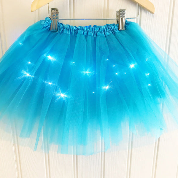Halloween LED Light Up Tutu - Turquoise