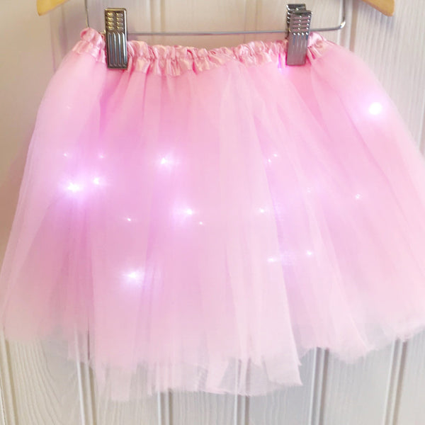 Halloween LED Light Up Tutu - Pink