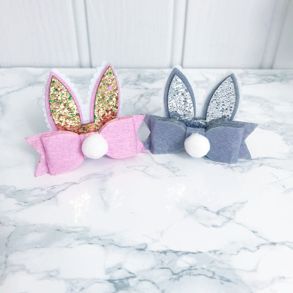 Easter Bunny Ears Clip and Gift Card