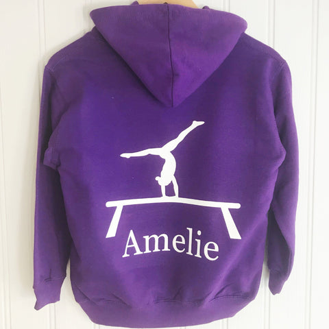 girls personalised hoodie for dance, personalised hoodie for gymnastics, ice skating hoodie for girls, horseriding hoodie personalised for girls, unicorn personalised hoodie for girls, personalised gifts for girls, personalised hoodies for girls