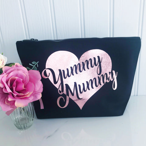 Yummy Mummy Make Up Toiletries Bag - Mothers' Day Gift, Birthday Gift