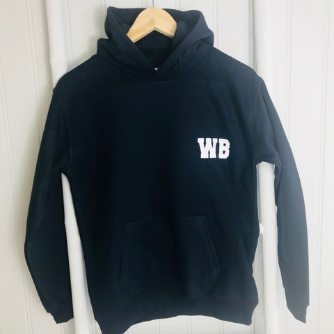 Boys'  Rugby Personalised Activity Hoodie (3 colours available)