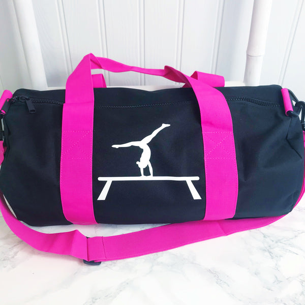Girls' Gymnastics Personalised Activity Bag - (5 colours available)