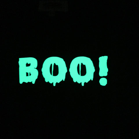 BOO! Glow in the Dark Long Sleeve T Shirt