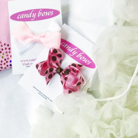 Candy Bows Super Duper Baby Pettidress Onesie Grab Bags
