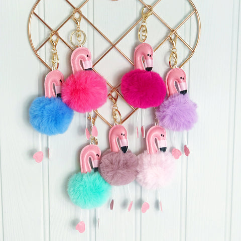 Ice Cream Pompom Key Ring and Party Bag Filler