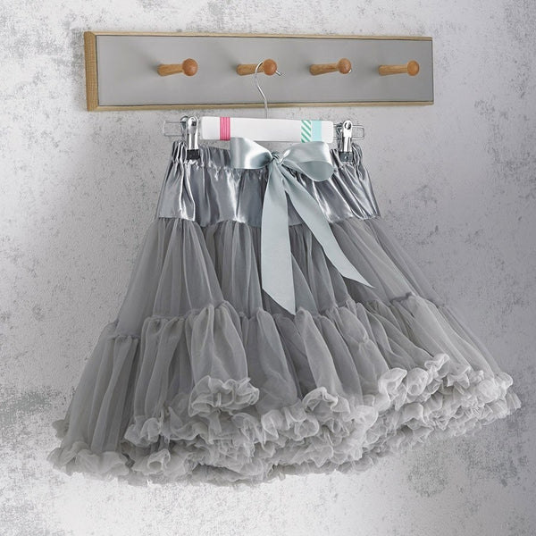EX DISPLAY - Grey Pettiskirt- Various Sizes