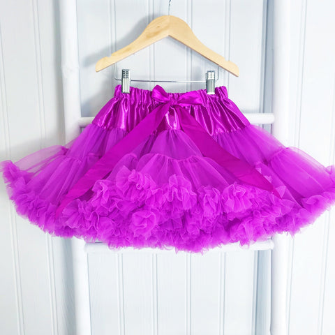 Garden Rose  Pettiskirt Tutu & Satin Bow