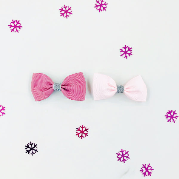 Sparkly Hair Bow Gift Set