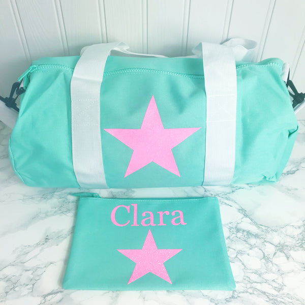 Sleepover Bag/New Baby Bag/Nappy Bag/Girls/Gift for Girls