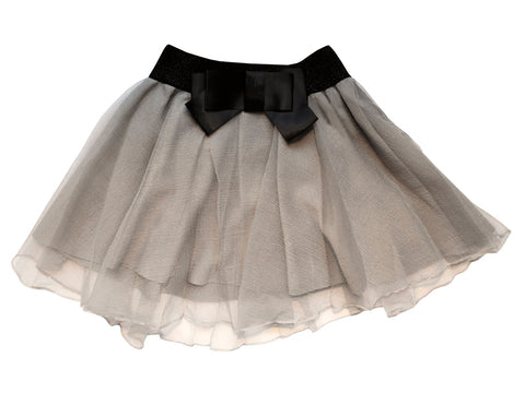 Ex Display Grey Tween Twirl Party Skort