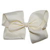 Boutique Hair Bows -Solid colours- Neutral Shades tan ivory beige