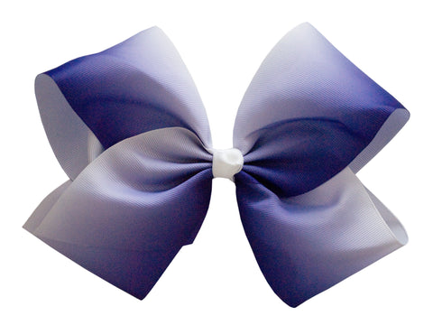 jojo girls dance cheer extra large hair bow 8 inch ombre