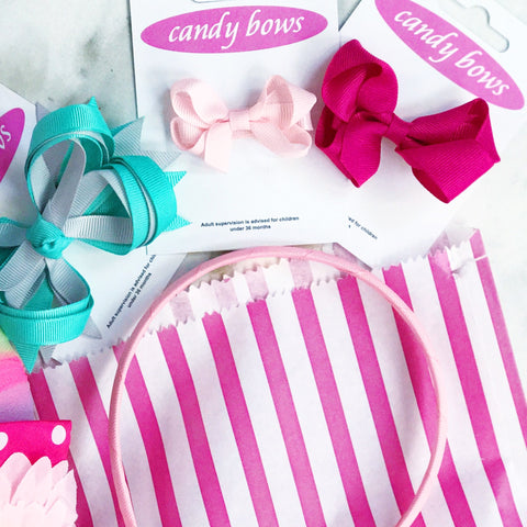 Candy Bows Super Duper Hair Accessories Grab Bags