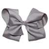 Boutique Hair Bow - Solid colours - Shades of Greys and Black