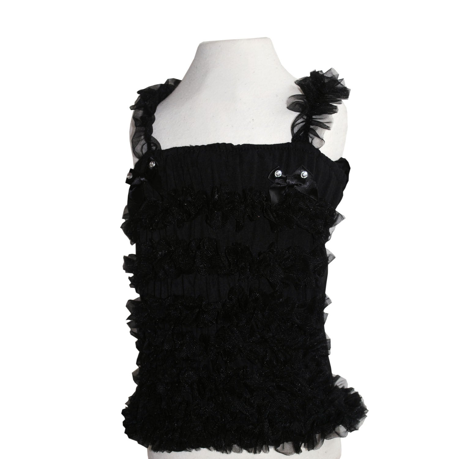 123ffb66f221a3 Sale pettiskirt top ruffle top black petticoat outfit angles face bob and  blossom ...
