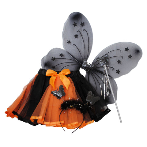 candy bows tutu wings wand headband halloween fancy dress