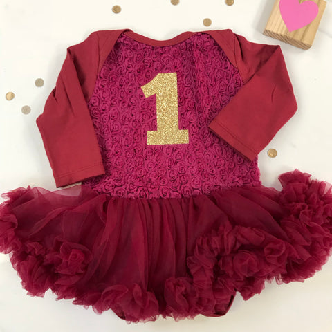 Rose Bodice Pettidress with Pettiskirt for Birthdays