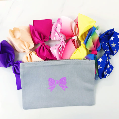 Grab Bag - Candy Bows Beauty Bag with 8 Dance Bows