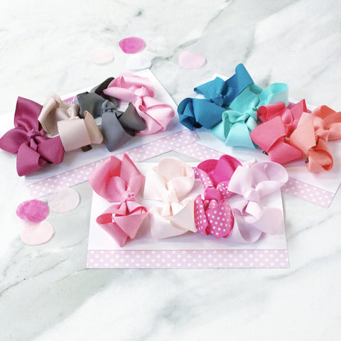 Gift Set of 4 Medium Boutique Bows