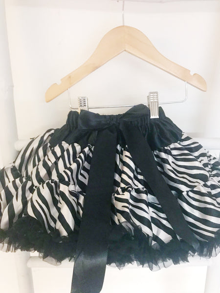 EX DISPLAY - Zebra Pettiskirt - 0-2 yrs