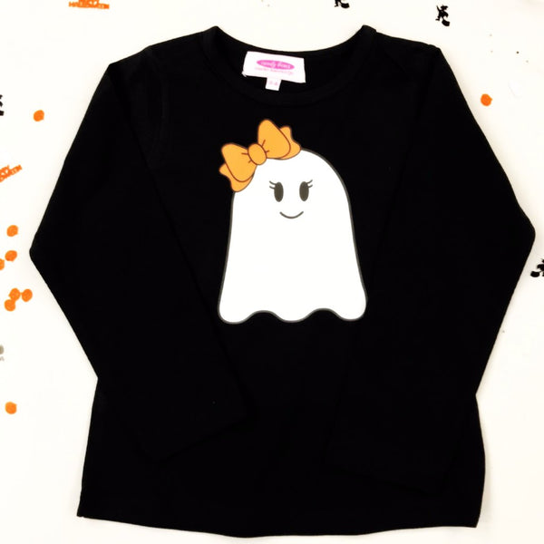 Mister and Miss Ghost Halloween Long Sleeve T-shirt - Option to personalise
