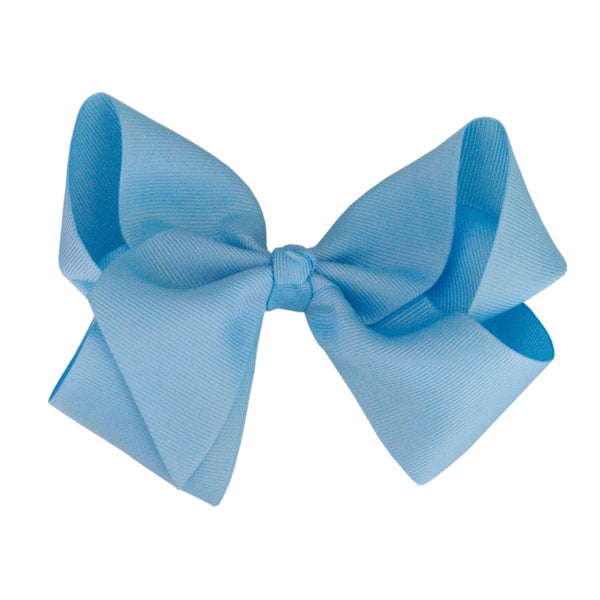 Boutique Hair Bow - Solid Colours -Shades of Blue