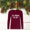 Ladies Christmas Gin Sweatshirt