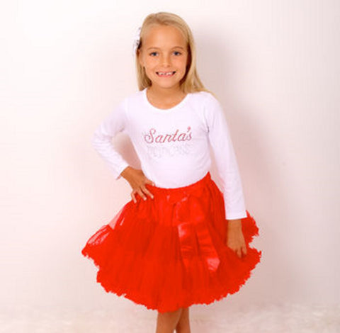 Little Miss Santa Clause Christmas Outfit