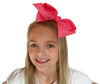 "Take a Candy Bows Dance bow and show some sassy style! Our Dance Bows, made exclusively for Candy Bows, are perfect if you are taking to the stage with your outstanding performance or if you just want to style up as you hang out with your friends – this bow has it all going on!  This bow uses our tried and tested alligator pinch clips allowing you to wear over a ponytail or on the side, making it versatile to suit whatever ultimate style you are rocking.  Made from 4"" high quality grosgrain ribbon Knotted C"